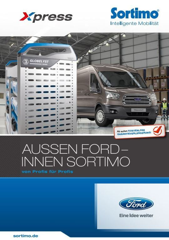 Ford - Sortimo каталог