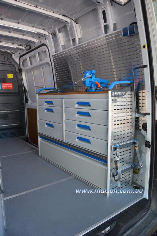 стелажі для мобільного сервісу, автомобільні модулі для пересувних СТО
