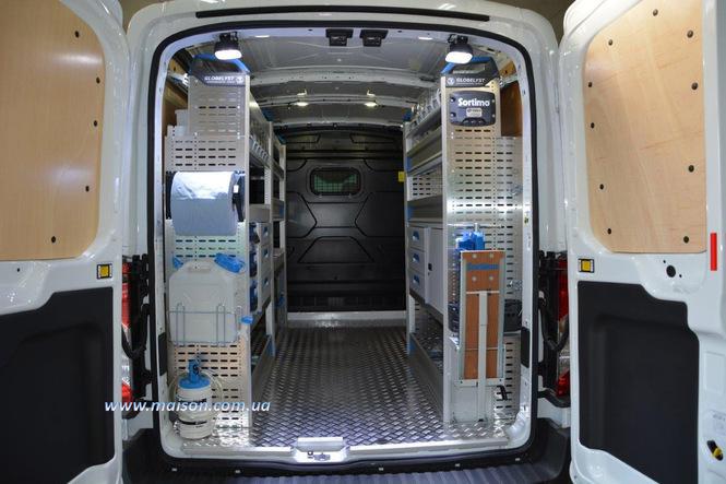 фургон технічка мобільної служби сервісу